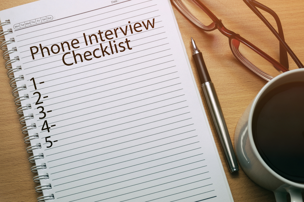 Expecting a Phone Interview? Fill Out a Cheat Sheet to Help